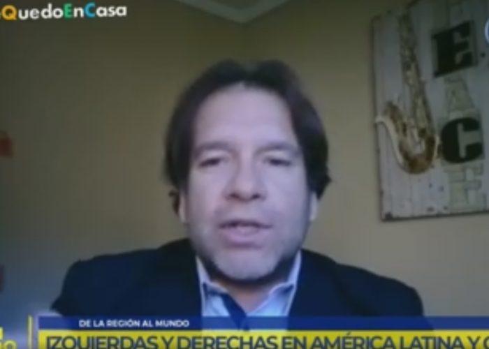 TVU: Investigador CIDESAL Sergio Toro conversó sobre la encrucijada política del coronavirus en América Latina