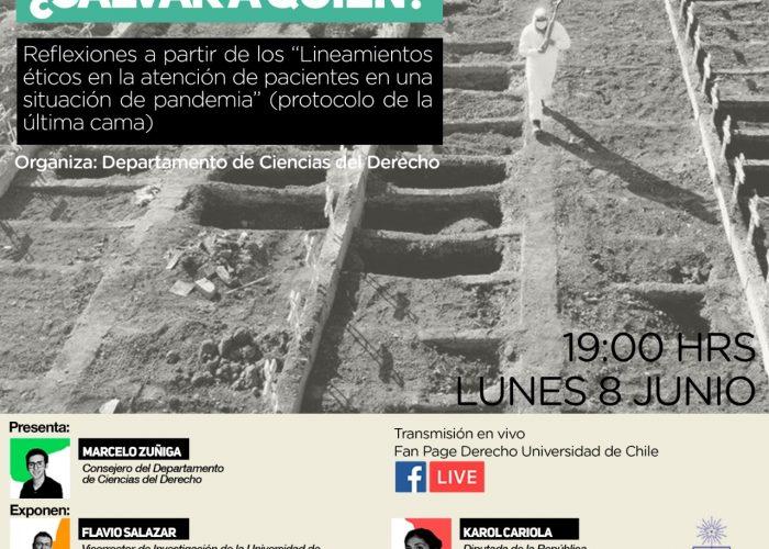 Rodrigo Pulgar en foro sobre la pandemia: entre la vida y la economía