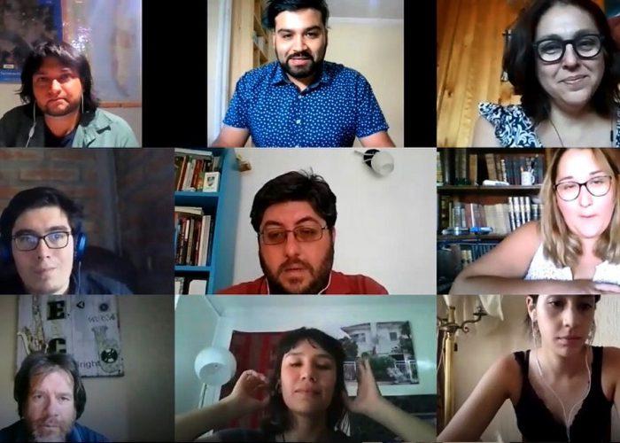 Seminario estudiantes del curso electivo Cidesal: dialogar desde distintas experiencias y miradas
